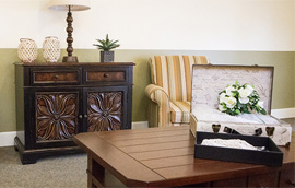 Locust Grove Senior Living - West Mifflin, PA - Sitting Room