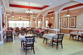 Magnolia Court - Nacogdoches, TX - Dining Room