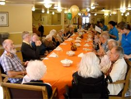 Mission Hills Senior Living - Rancho Mirage, CA - Birthday Party