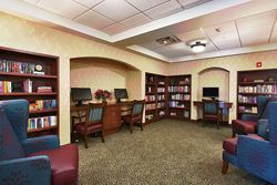Oak Hill Supportive Living Community - Round Lake Beach, IL - Library
