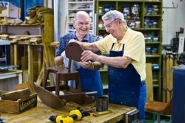 Oak Trace - Downers Grove, Illinois - Woodworking Shop