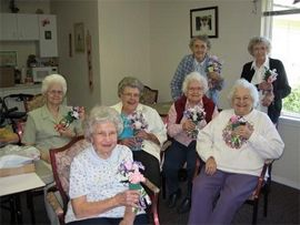 Overland Court - Boise, ID - Arts and Crafts with Residents