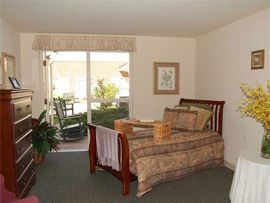 Pacifica Senior Living Virginia Beach, VA - Apartment Bedroom