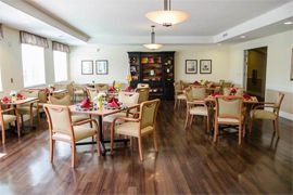 Pamilla Senior Living - Albuquerque, NM - Dining Room