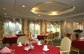 Pavilions at Forrestal - Princeton, NJ - Dining Room