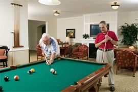 Ridgen Farm Senior Living - Fort Collins, CO - Game Room