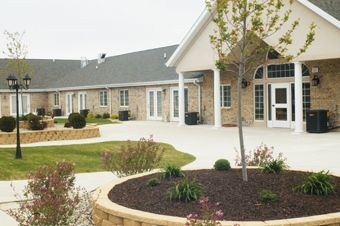 San Gabriel Assisted Living - Rochelle, IL - Exterior