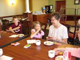 San Gabriel Assisted Living - Rochelle, IL - Visiting Grandchildren