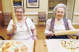 Seven Lakes Memory Care - Loveland, CO - Cooking Class