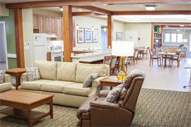 Seven Lakes Memory Care - Loveland, CO - Living Room