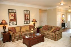 The Cottages at Woodland Terrace - Milledgeville, GA - Living Room