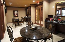 The Meridian at Kessler Park - Dallas, TX - Coffee Area