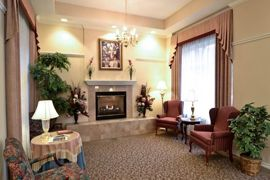 The Waterford at Edison Lakes - Mishawaka, IN - Fireplace Lounge
