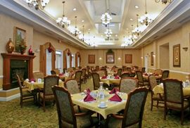 The Waterford at Richmond Heights, OH - Dining Room