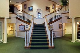The Woodlands of Shaker Heights, OH - Entry Stairway
