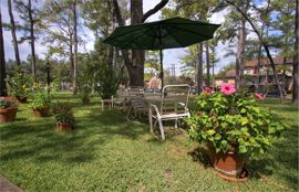 Treemont Retirement Community - Houston, TX - Courtyard