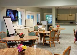 Woodlands Assisted Living - Baltimore, MD - Activity Room