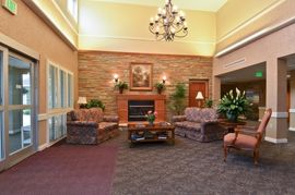 Woodview - Fort Wayne, IN - Fireplace Lounge