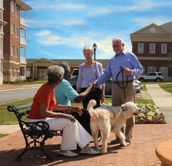 Cascades Verdea - Greenville, SC - Residents Socializing
