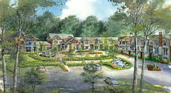 Noble Village at Spaulding - Peachtree Corners, GA - Exterior