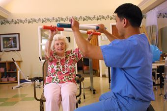 Providence HealthCare and Rehabilitation Center - Downers Grove, IL - Caregiver and Patient