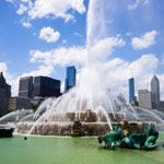 Buckingham Fountain in Chicago, Illinois