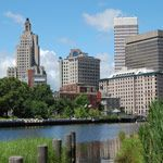 The cityscape of Providence, Rhode Island