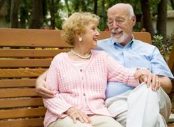 Reina's Residential Care I - La Mesa, CA - Couple on Bench