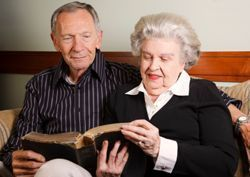 Bay Harbour Residential Care Home - Alameda, CA - Couple Reading