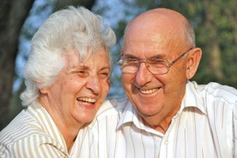 Class Act Assisted Living Homes - Mesa, AZ - Couple Smiling