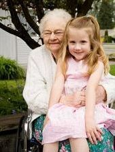 Elshadai Care Home - Cedar Hill, TX - Senior and Grandchild