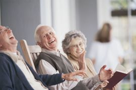 Barrington Place - Clinton, UT - Seniors Laughing