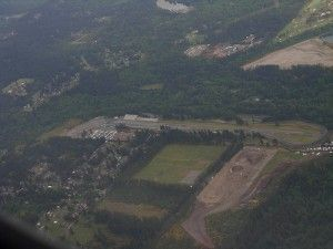 Aerial view of Kent Washington