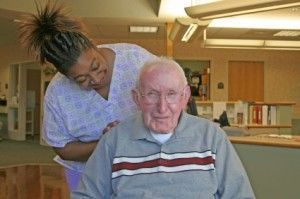 Nursing Home Resident with Nurse