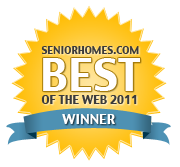 SeniorHomes.com Best of the Web Winner