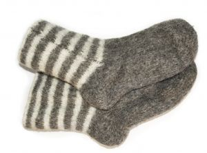 Matching socks is a soothing activity for memory-impaired residents