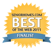 SeniorHomes Best of the Web Finalist medium