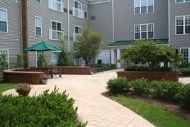 Brookdale Chandler Place - Rock Hill, SC - Community Courtyard