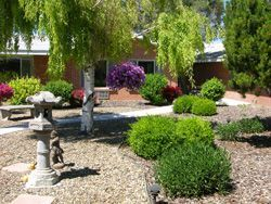 Woodstone Assisted Living - Twin Falls, ID - Courtyard