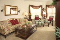 Brookdale Palm Beach Gardens, FL - Living Room