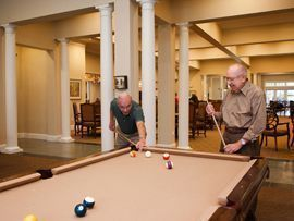 Preston Place - Plano, Texas - Billiards