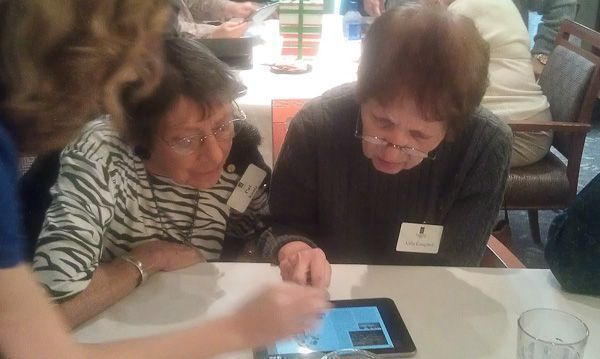 Seniors learn to use technology