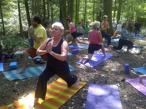 Yoga for Seniors as part of Wellness Month