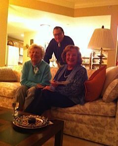 Margery with friends in her CCRC in Colorado
