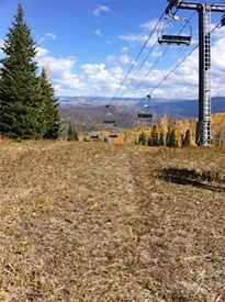 Colorado Ski Lift in Summer