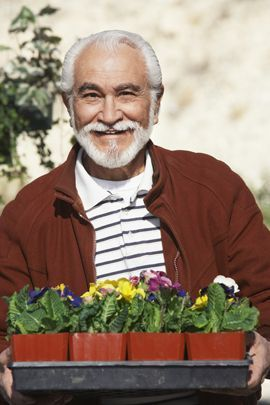 Many assisted living facilities have dedicated gardening areas