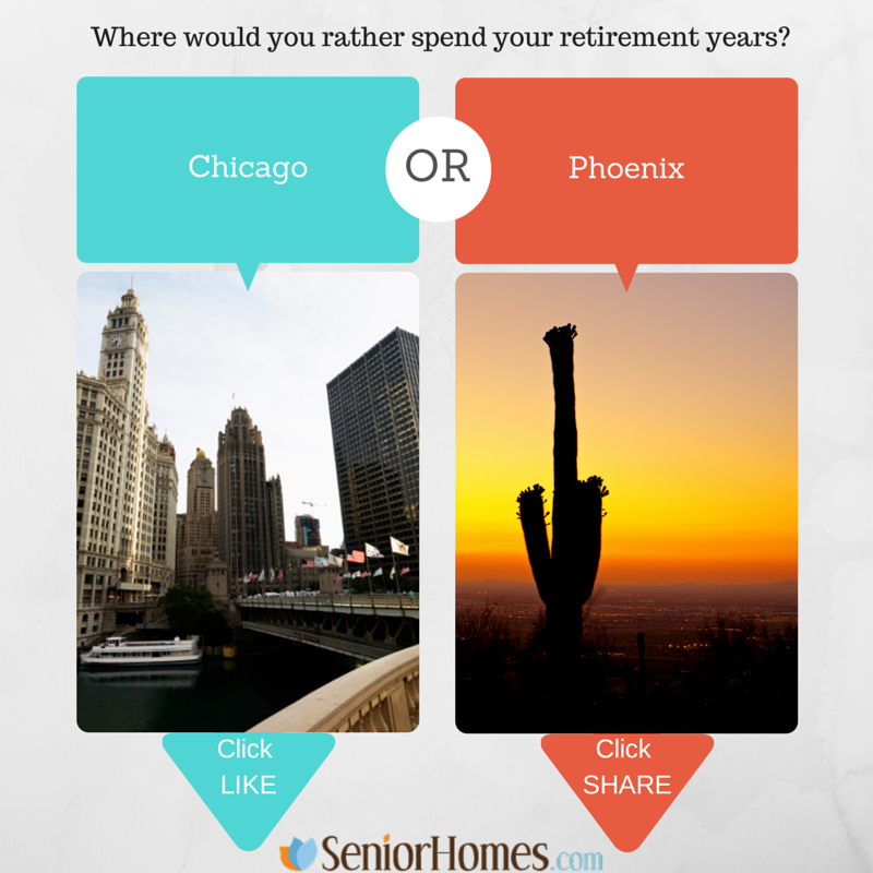 Where would you rather spend your retirement years?