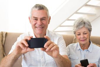 Smart homes, and smartphones, can make aging in place significantly easier.