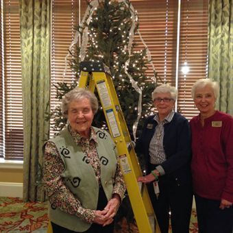 Margery's Friends with a Community Christmas Tree