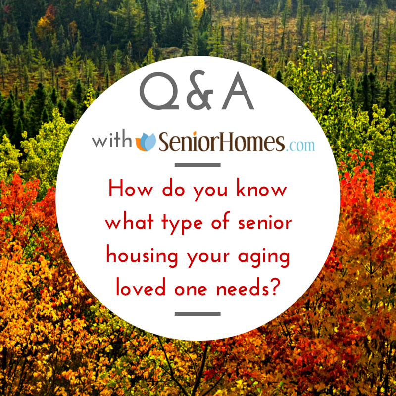 Types of senior housing